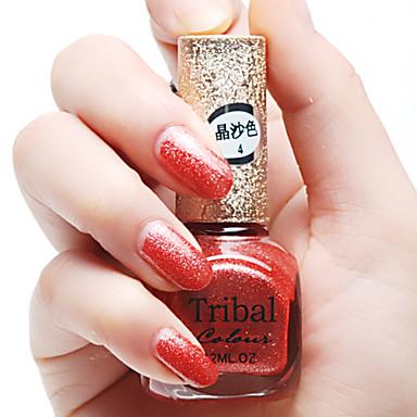Nail Polish UV Gel  0.012L 6pcs Glitters Soak off Long Lasting  Glitters