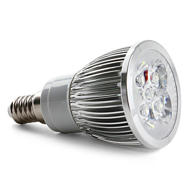 E14 5 W 5 High Power LED 360 LM Natural White Spot Lights AC 85-265 V
