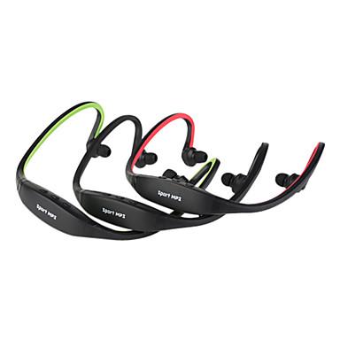 Trådløs Sport MP3-musikafspiller hovedtelefoner Support TF + FM-radio