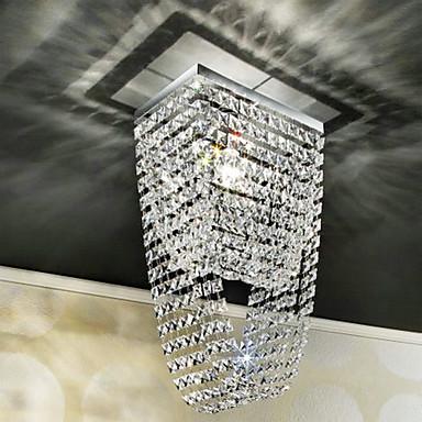 QINGMING® Modern / Zeitgenössisch Unterputz Raumbeleuchtung - Kristall Ministil, 110-120V 220-240V Glühbirne nicht inklusive