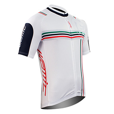 SANTIC Men's Short Sleeves Bike Jersey