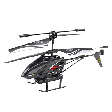 wltoys 3.5ch legering rc helikopter med high-definition antenne kamera