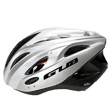 GUB-EPS/PC Road/MTB Helmet with Sunvisor & 3 LED Safety Lamps