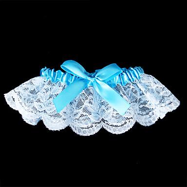 Spitze Klassisch Hochzeitsstrumpfband - Schleife Strumpfbänder