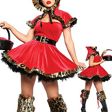 Eventyr Cosplay Kostumer Festkostume Dame Halloween Karneval Festival / Højtider Halloween Kostumer Patchwork