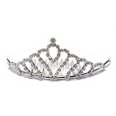 Umjetno drago kamenje / Legura tijare s 1 Vjenčanje Glava