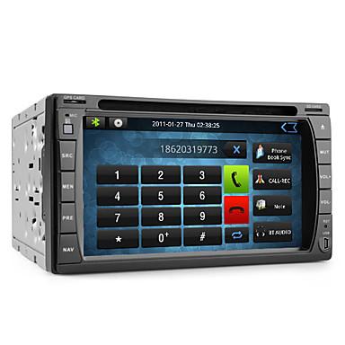 androïde 6,2 pouces Lecteur DVD de voiture avec le GPS, l'ISDB-T, wifi, et un accès Internet 3G