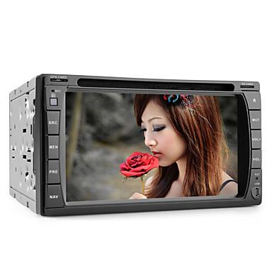 Android 6.2 tuuman auto dvd-soitin gps, analoginen TV, WiFi ja 3G internet