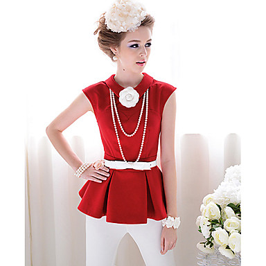 moda vintage das mulheres lapela camisa blusa gola