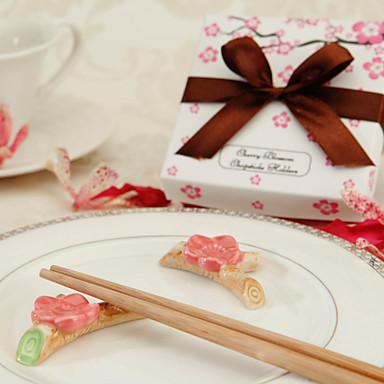 ceramica cherry blossom bacchette di riposo (set di 2)