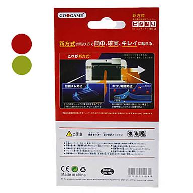 Ruudun suojat Käyttötarkoitus Nintendo 3DS Ruudun suojat Muovi 1 pcs yksikkö