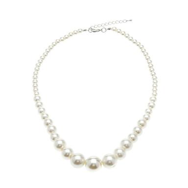 Pentru femei Lănțișoare Κολιέ με Πέρλες Circle Shape Perle de Mireasă costum de bijuterii La modă Elegant Bijuterii Pentru Nuntă
