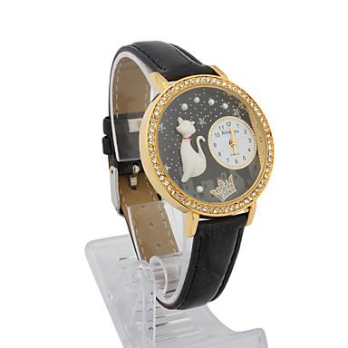 Damen Ausziehbar Armbanduhren für den Alltag / Modeuhr Chinesisch Anwendung Andere / Legierung Band Armbanduhr Schwarz