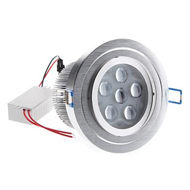 12W 1200-1300lm 6000-6500K Natural White Light Bulb réglable de plafond de LED (85-265V)