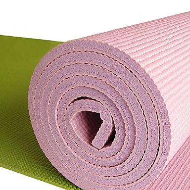 PVC écologique supplémentaire Slip épais résistant yoga Pilates Mat (couleurs assorties, 183cm, 10mm)