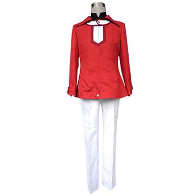 Inspirovaný Yu-Gi-Oh Judai Yuki Anime Cosplay kostýmy Cosplay šaty Jednobarevné Dlouhý rukáv Kabát Kalhoty Tričko Pro Pánské