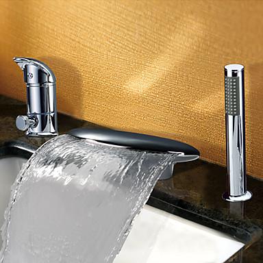 Badewannenarmaturen - Moderne Chrom Badewanne & Dusche Keramisches Ventil