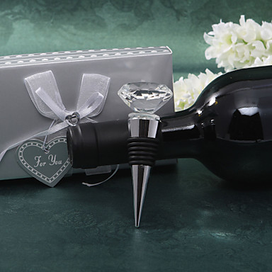 billige Flaskegaver-Ikke-personalisert Rustfritt Stål Flaskestoppere Flaskefavoritt Hage Tema Klassisk Tema Flaskegave