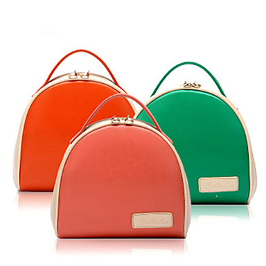 Women Bags PU Tote Clutch Evening Bag for Casual All Seasons Red Green Blue Watermelon