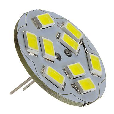 2 W 6000 lm G4 LED-kohdevalaisimet 9 LED-helmet SMD 5730 Neutraali valkoinen 12 V