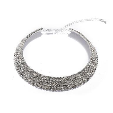 magnifique collier en cristal pour le mariage / soirée