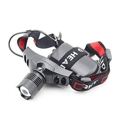 Svjetiljke za glavu LED lm Način LED Može se puniti Kampiranje / planinarenje / Speleologija