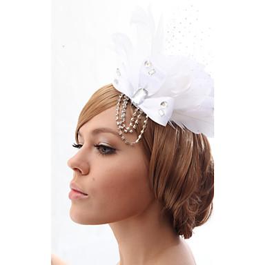 Beautiful Silk Screen/Imitation Pearls Wedding/Bride Headdress Flower