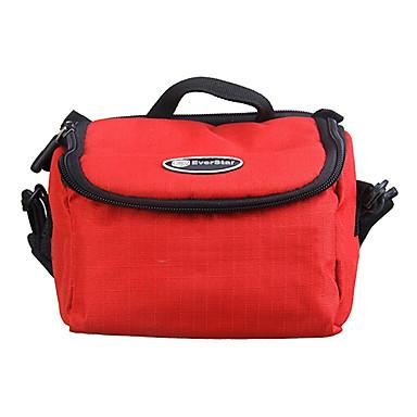 ripstop polyester polstrovaná měkkou ochranné pouzdro brašna pro digitální fotoaparát velké velikosti - červená