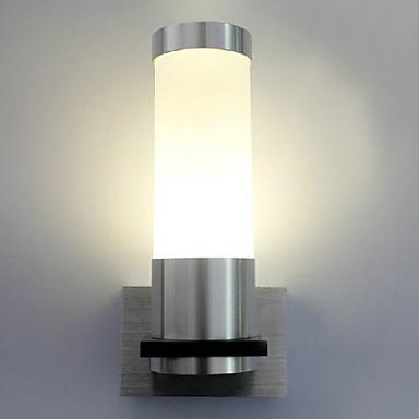 Duvar ışığı Ortam Işığı Duvar lambaları 1W 90-240V Birleştirilmiş LED Modern/Çağdaş Eloktrize Kaplama