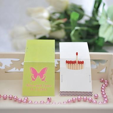 Häät / Party Materiaali Kova kartonki Wedding Kunniamerkit Perhos-teema / Wedding Kevät Kesä Kaikki vuodenajat