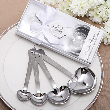 Wedding Anniversary Engagement Party Bridal Shower Stainless Steel Kitchen Tools Classic Theme