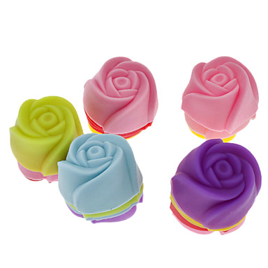 Backform Blume Obstkuchen Plätzchen Kuchen Silikon Umweltfreundlich Danksagungen Gute Qualität