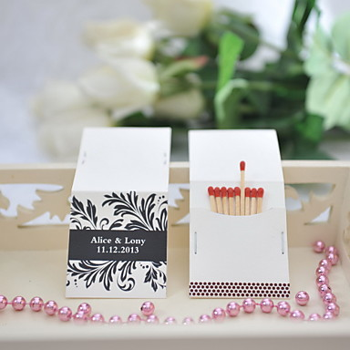 Personalisierte Box Hartkartonpapier / Fasergemisch Hochzeits-Dekorationen Hochzeitsfeier Klassisch Ganzjährig