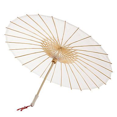 billige Vifter og parasoller-Fest / aften / Avslappet Materiale Bryllupsdekorasjoner Asiatisk Tema / Ferie / Klassisk Tema Vår Sommer Høst Alle årstider