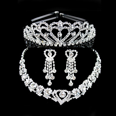 Women's Rhinestone Wedding Party Special Occasion Anniversary Birthday Engagement Alloy