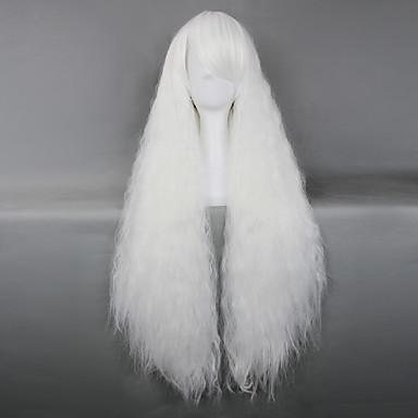Lolita Peruukit Gothic Lolita Valkoinen Lolita Lolita Peruukit 34 inch Cosplay-Peruukit Yhtenäinen Peruukki Halloween Peruukit