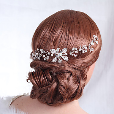Women's Alloy Headpiece-Wedding Special Occasion Flowers Elegant Style
