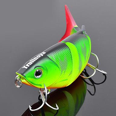 1pcs kom Tvrdi Mamac Minnow Csali Minnow Tvrdi Mamac Tvrde plastike Fluorescentne Svjetleći Morski ribolov Slatkovodno ribarstvo