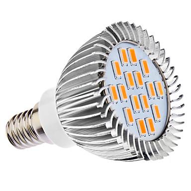 daiwl E14 5w 16x5630smd 400-450lm 3000-3500k teplé bílé světlo LED Spot žárovka (110 / 220V)