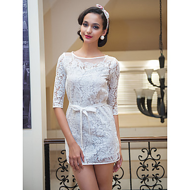 TS Organza Flora Half Sleeve Dress