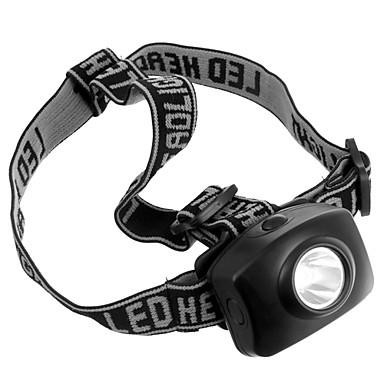 Čelovky Přední světla LED 50 lm 1 Režim Taktický Kempování a turistika Každodenní použití Cyklistika