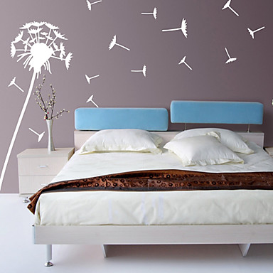 Botanical Wall Stickers Plane Wall Stickers Decorative Wall Stickers, Vinyl Home Decoration Wall Decal Wall