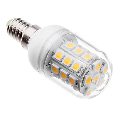 3000 lm E14 G9 LED kukorica izzók 30 led SMD 5050 Meleg fehér Hideg fehér AC 220-240V