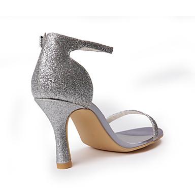 chaussures Sandales toes Sparking 00749026 de mariage goût avec peep Bon boucle animés WwqaZFTtt1