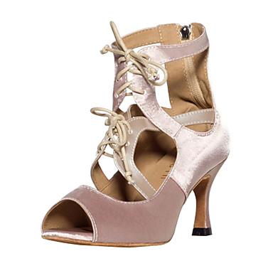 Satin Pantofi de dans superior femei elegante personalizate lui
