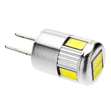 G4 LED Spotlight 6 leds SMD 5730 Cold White 220-250lm 6000K AC 12V