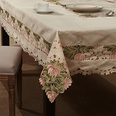Poliester Dreptunghiular Fețe de masă Floral Decoratiuni de tabla