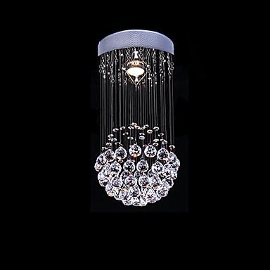 SL® Krystall Anheng Lys Omgivelseslys galvanisert Metall Krystall 110-120V / 220-240V Pære ikke Inkludert / GU10