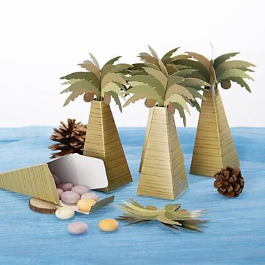 Aniversare / Zi de Naștere / Petrecerea Baby Shower Favoruri de partid și Cadouri - Cutii de Savoare Hârtie cărți de masă Temă Plajă