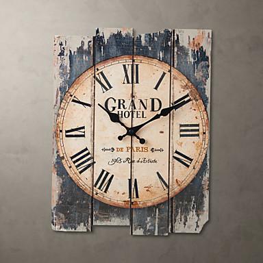 povoljno Zidni satovi-15-satni braon zidni sat